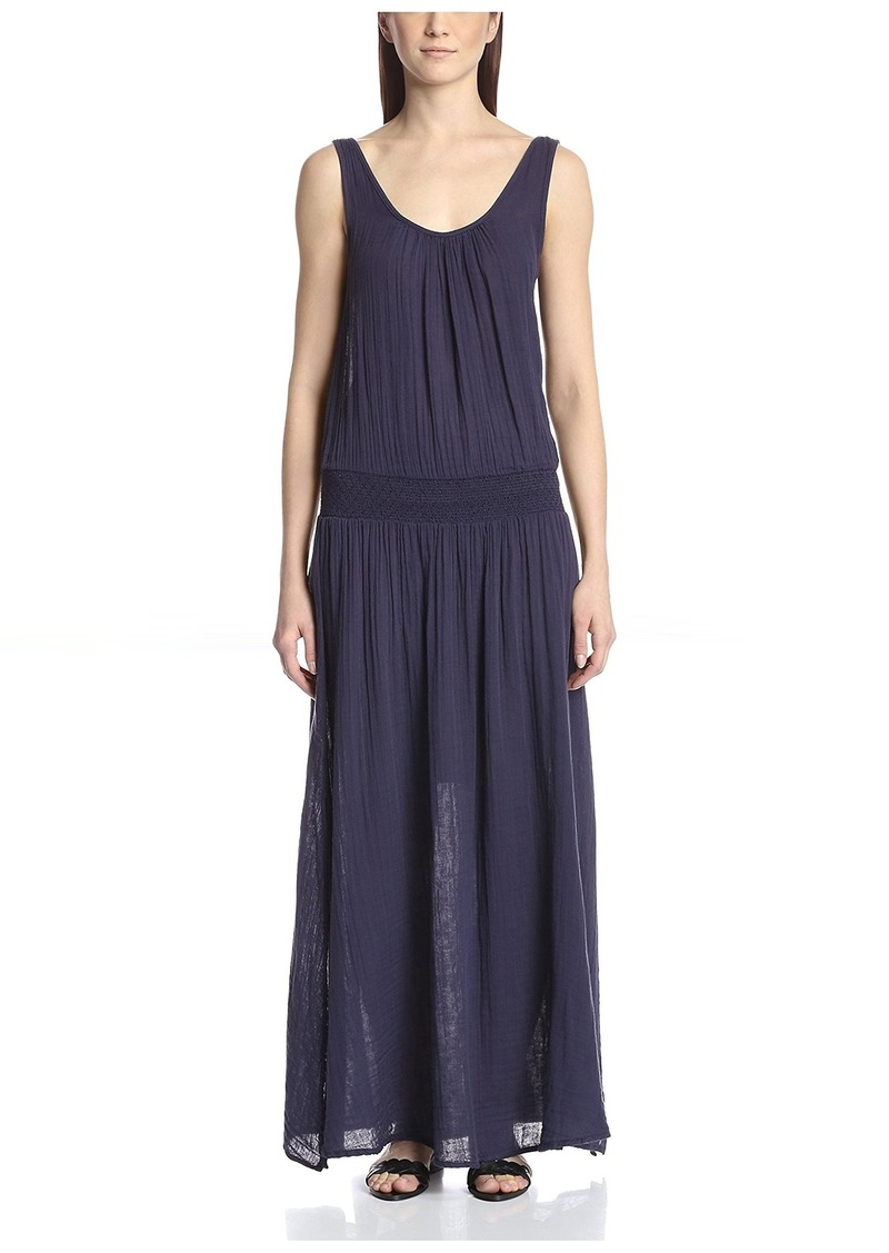Three Dots Women's Double Scoop Maxi Dress  S