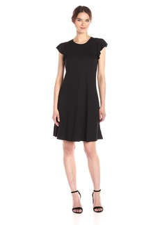 Three Dots Women's Easy Flounce Dress  L