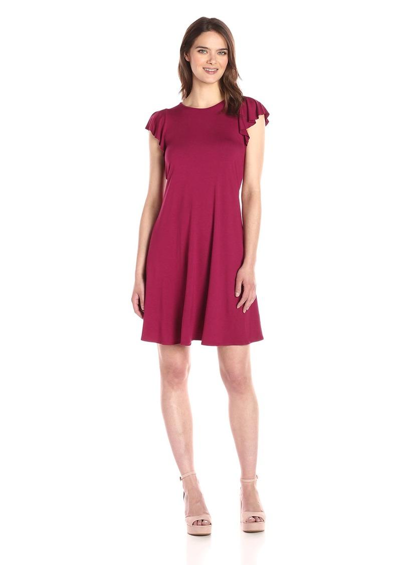 Three Dots Women's Easy Flounce Dress  S