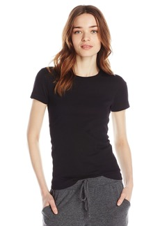 Three Dots Women's Essential Short Sleeve Crew Tee