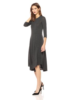 Three Dots Women's Featherweight Loose Long Dress  Xtra Large