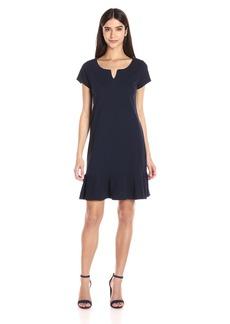 Three Dots Women's Flounce Dress  M