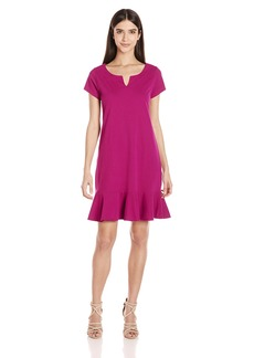 Three Dots Women's Flounce Dress  S