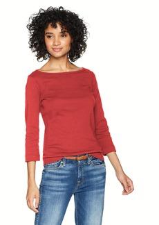 Three Dots Women's Heritage Knit 3/4 Short Tight Shirt