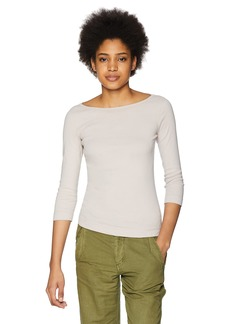 Three Dots Women's Heritage Knit 3/4 Tight Short Shirt