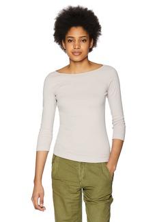 Three Dots Women's Heritage Knit 3/4 Tight Short Shirt  Extra Large