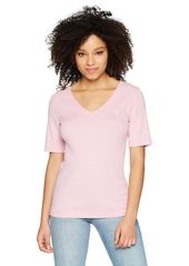 "Three Dots Women's Heritage Knit 9"" Short Loose top  Extra Small"
