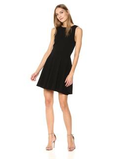 Three Dots Women's Heritage Knit tie Short Loose Dress