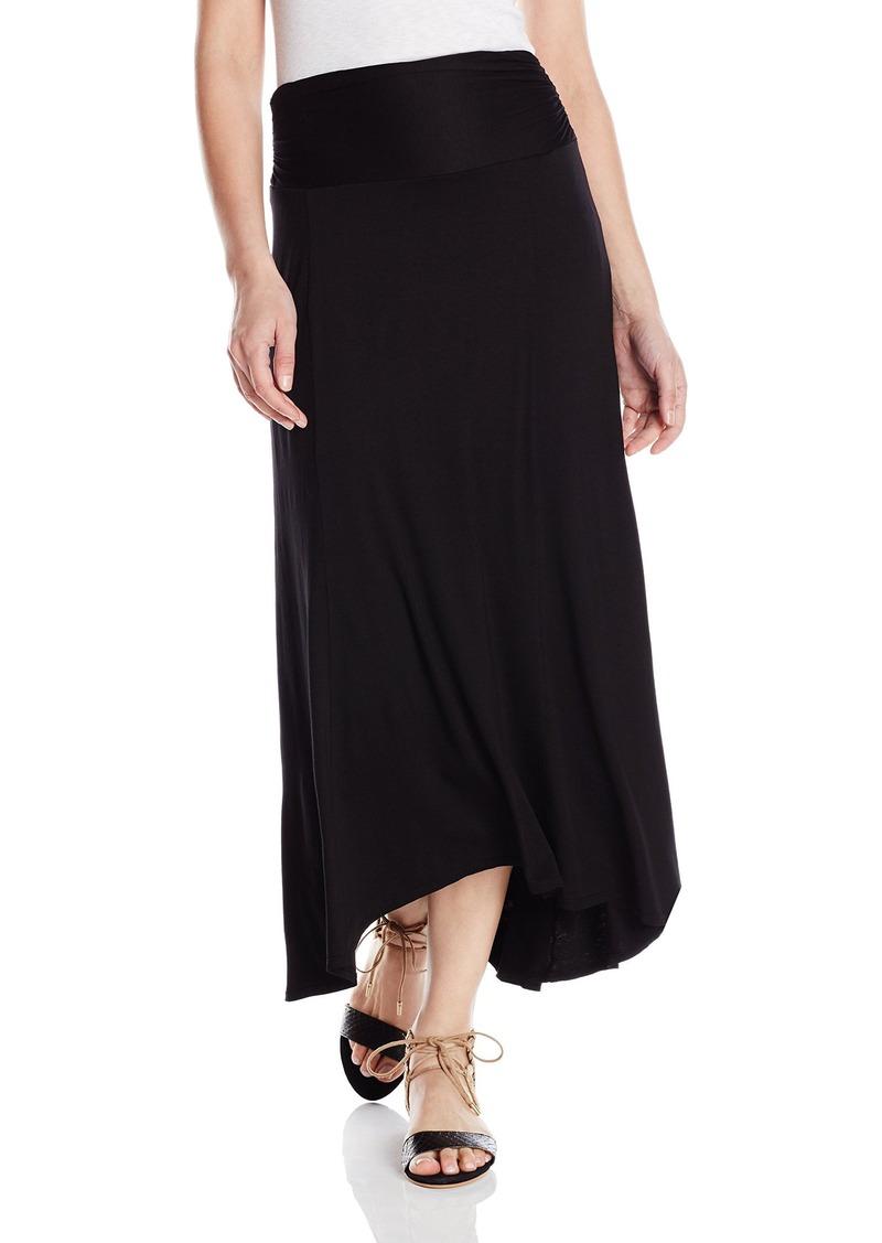 Three Dots Women's High-Low Maxi Skirt