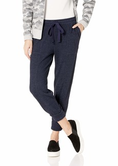 Three Dots Women's JQ6196 Beach Terry Sweatpants Heather Night IRIS