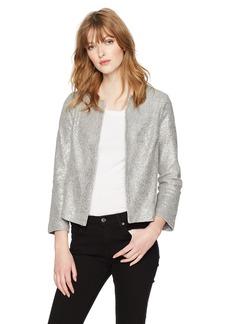 Three Dots Women's Knit Loose Short Jacket