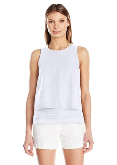 Three Dots Women's Layered Tank Top  L