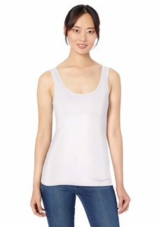 Three Dots Women's LD0553 Refined Fitted Tank