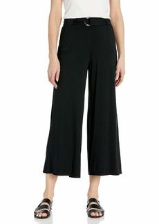 Three Dots Women's LD3248 Refined Jersey Wide Leg Pant