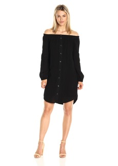 Three Dots Women's L/s Shirt Tunic  XL