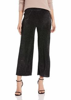 Three Dots Women's LU6177 Lurex Pull ON Pant