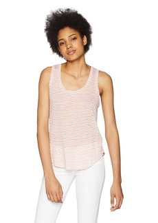 Three Dots Women's Mojave Stripe Short Loose Tank