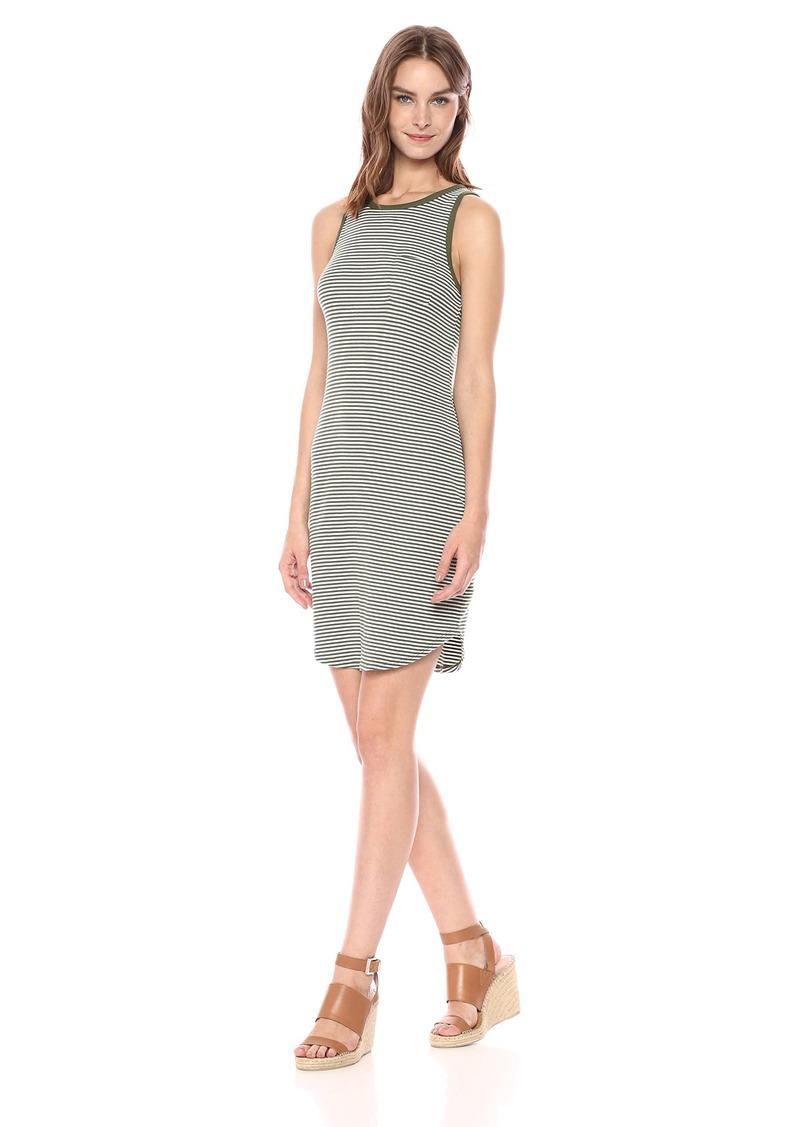 Three Dots Women's Montauk Stripe Short Loose Dress