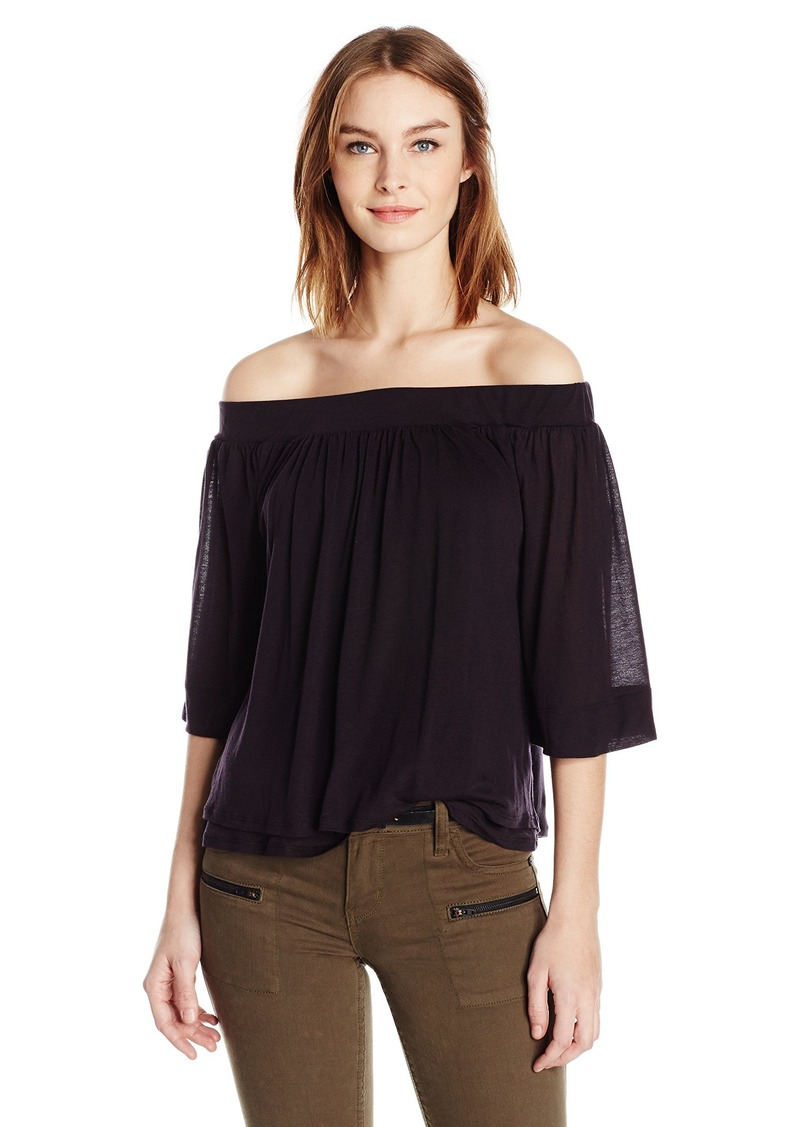 Three Dots Women's Off Shoulder Top  L