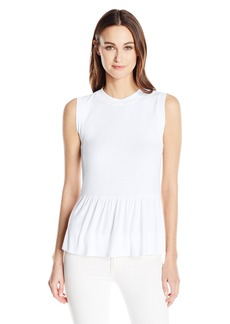 Three Dots Women's Peplum Tank  XS