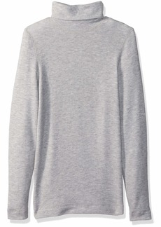 Three Dots Women's QQ2482 Brushed Sweater Turtleneck  Extra Small