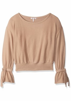 Three Dots Women's QQ2663 Brushed Sweater top