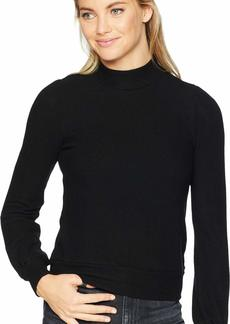 Three Dots Women's QQ2666 Brushed Sweater Puff SLV top  Extra Large