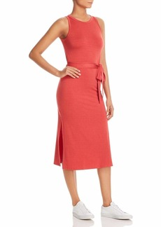 Three Dots Women's Refined Jersey Easy Tight midi Dress