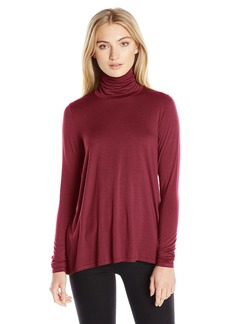 Three Dots Women's Relaxed Turtleneck  S