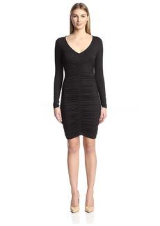 Three Dots Women's Ruched Dress  L