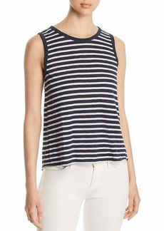 Three Dots Women's Saguaro Loose Short Tank Night iris