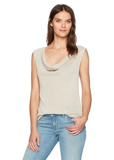 Three Dots Women's [Shimmer Sweater Knit Cowl [Loose] + [Short] + [top]