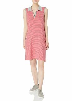 Three Dots Women's Sleeveless Polo Dress  S