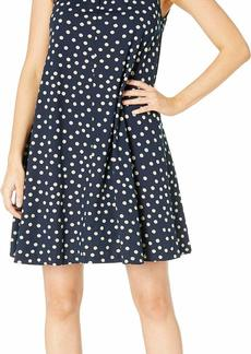 Three Dots Women's Spring Dot Print Dress