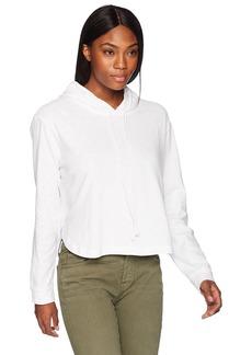 Three Dots Women's Sueded slub Short Loose Sweatshirt