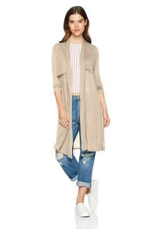 Three Dots Women's Tencel Loose Long Cardigan