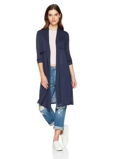Three Dots Women's Tencel Loose Long Cardigan