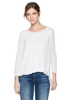 Three Dots Women's Tencel Loose Short top