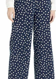 Three Dots Women's THRE Spring Dot Print Pull on Pant
