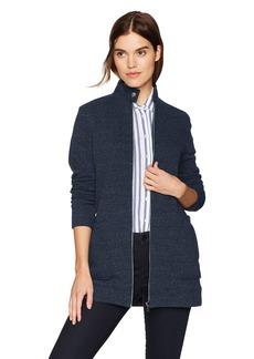 Three Dots Women's Triblend Fleece Loose Long Jacket