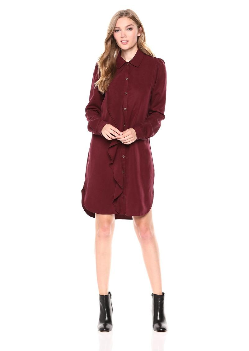 Three Dots Women's TV5858 All Weather Twill Dress