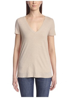 Three Dots Women's V-Neck SR1152  S