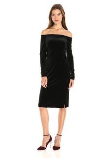 Three Dots Women's Velvet Slip Dress  M