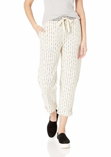 Three Dots Women's VH6194 SLUB Stripe Mini Zebra Knit Pant  Extra Small