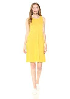 Three Dots Women's Vintage Jersey Short Loose Swing Dress  Extra Large