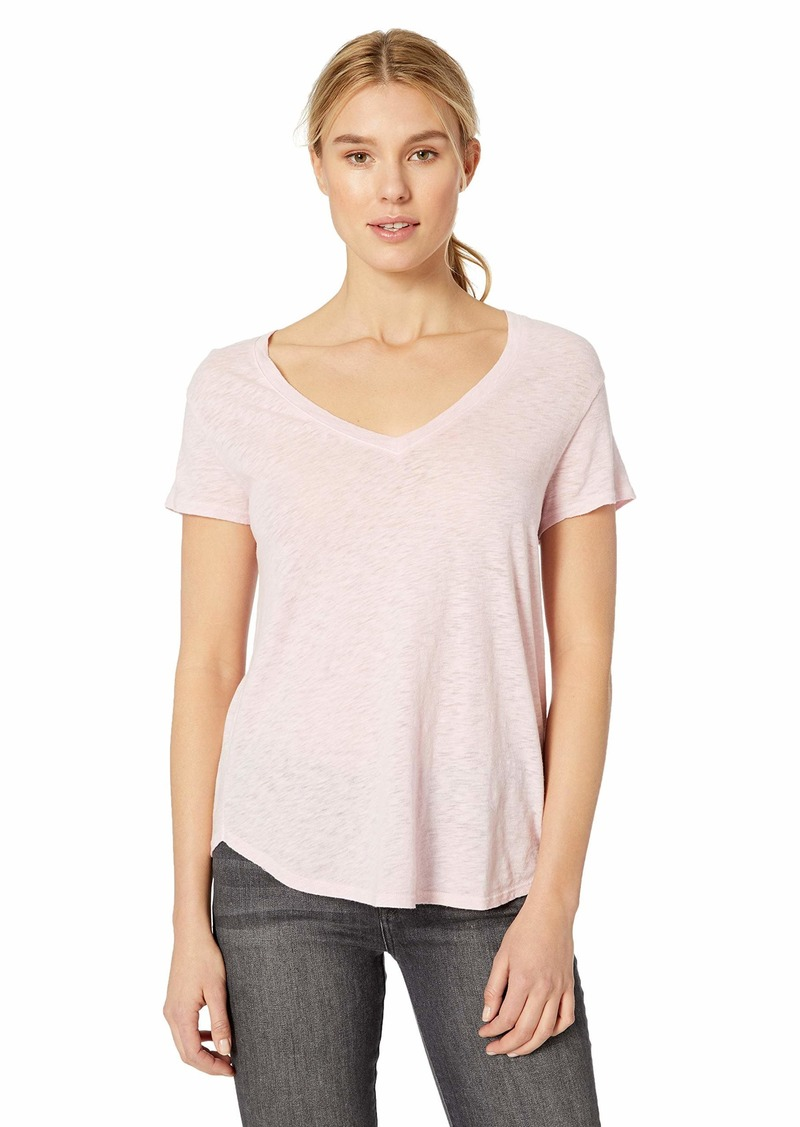 Three Dots Women's VJ1564 ECO Knit Easy FIT S/S TEE