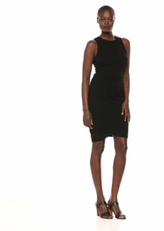 Three Dots Women's VJ5890 ECO Knit Double Layer Dress