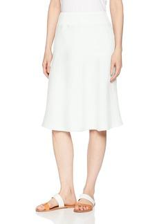Three Dots Women's Woven Linen mid Loose Skirt  Extra Small