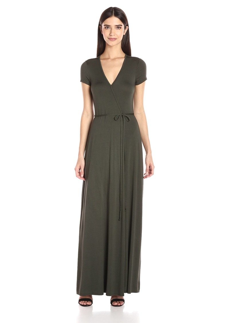 Three Dots Women's Wrap Dress  S
