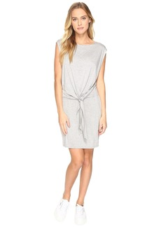 Three Dots Tie Front Twofer Dress